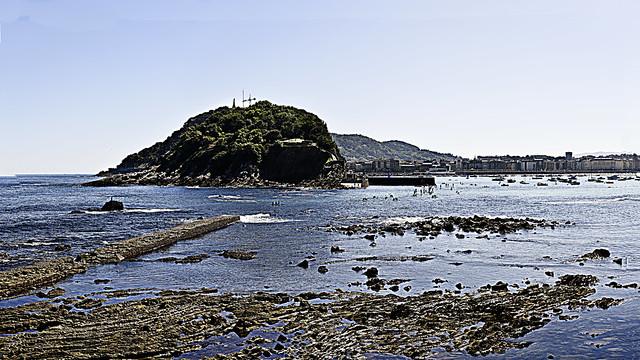 Panoramic Cantabrian coast. Euskadi