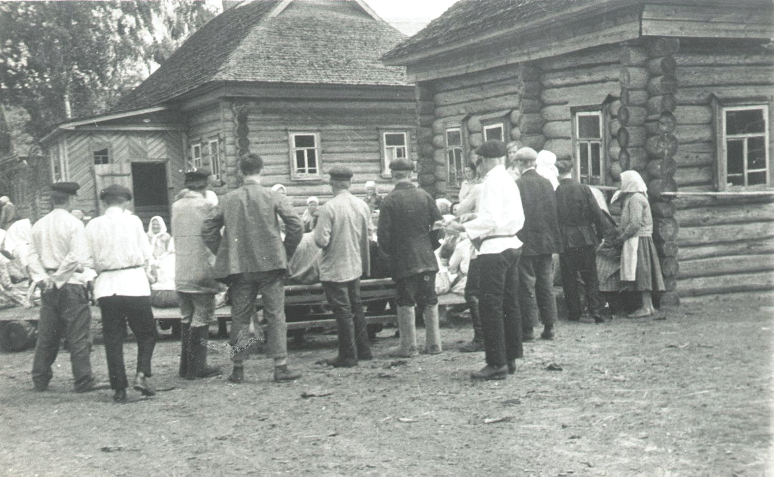 1926-1927. Деревня Бирюково. «Семик». Север