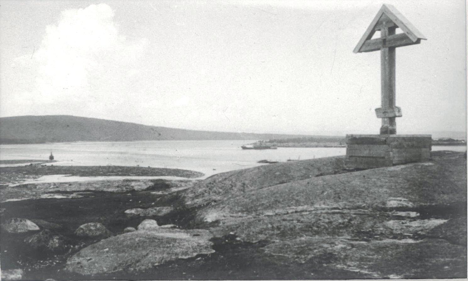 1926-1927.  Устье реки Ковды