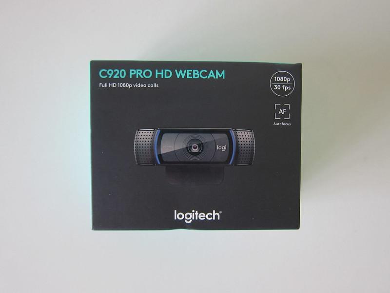 Logitech C920 Pro HD Webcam - Box Front