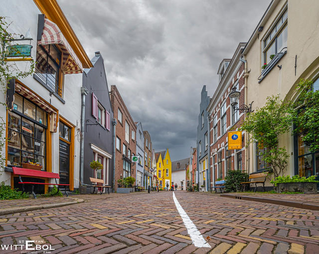 The streets of the city of Deventer