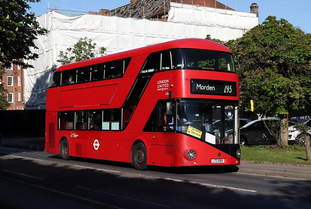 Route 293, London United, LT69, LTZ1069