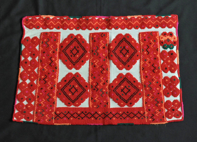 Mexico Chiapas Maya Weaving Tenejapa