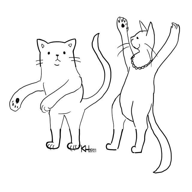 DrawThisCat_Dancing