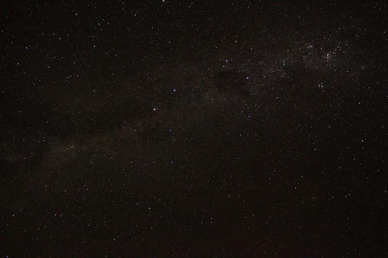 Night sky, northern Victoria, May 2021