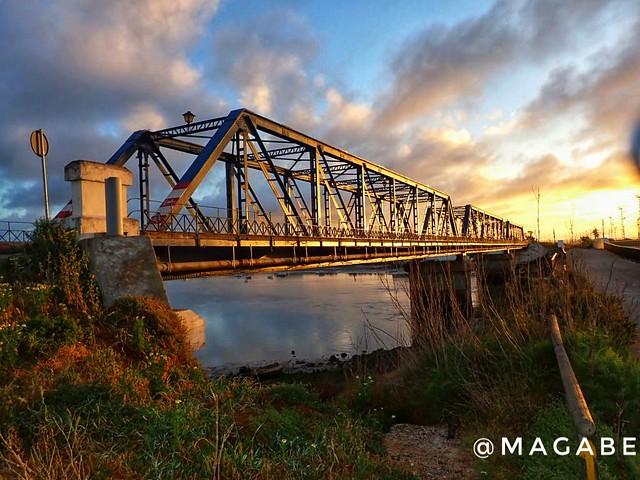 Puente Hierro, amanecer
