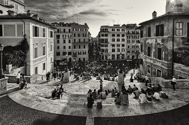 Piazza di Spagna afternoon