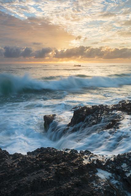 Wandering in the Sea