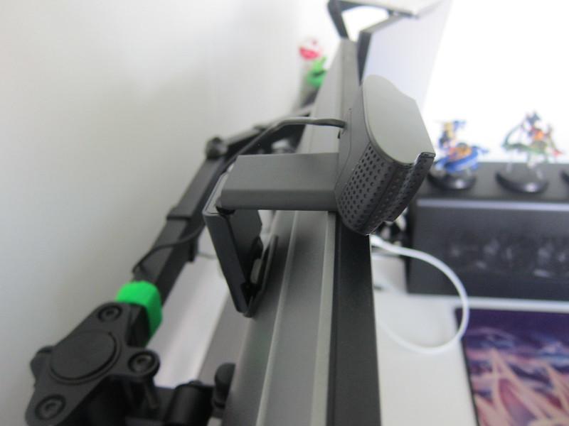 Logitech C920 Pro HD Webcam - Mounted - Side