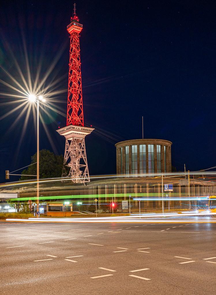 Funkturm Berlin Rot-Weiss