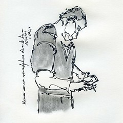 Homme au smartphone / Man with his smartphone