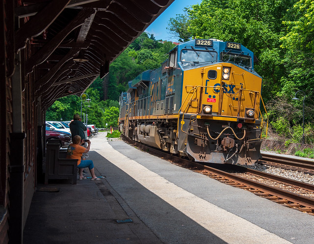 CSX and their GE fixation