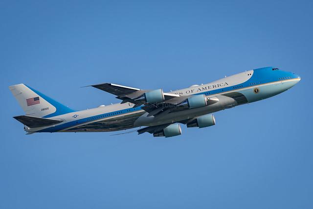 Boeing VC-25A (747-2G4B) I 82-8000 I 89th AW, Andrews AFB, USAF