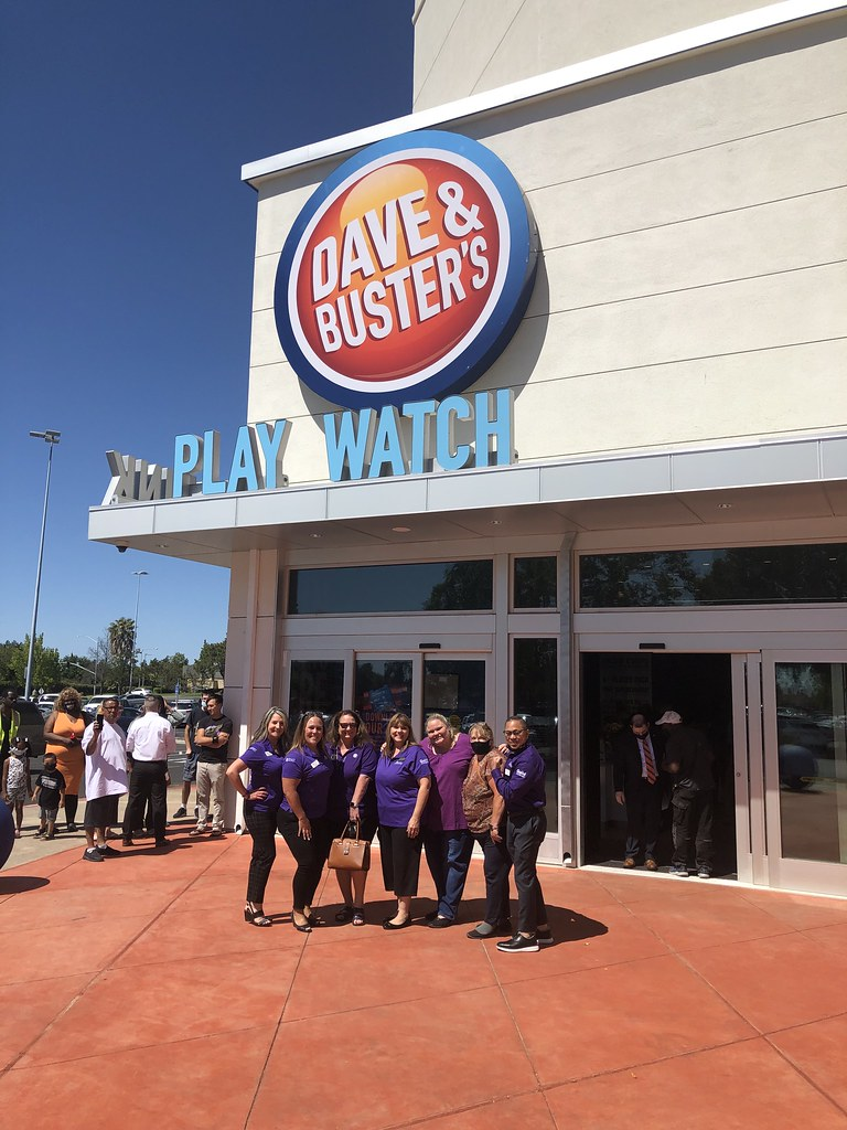 Dave & Busters Grand Opening