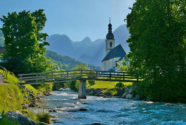 der Klassiker... Ramsau bei Berchtesgaden