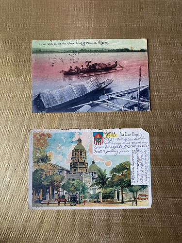 Vintage Philippine postcards