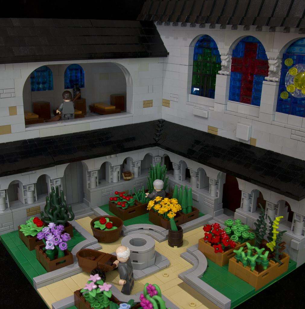The abbey gardens