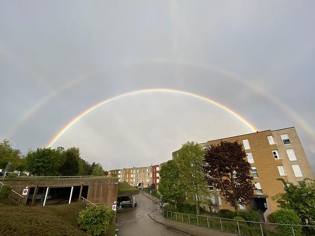 Rainbow over Neuchâtel
