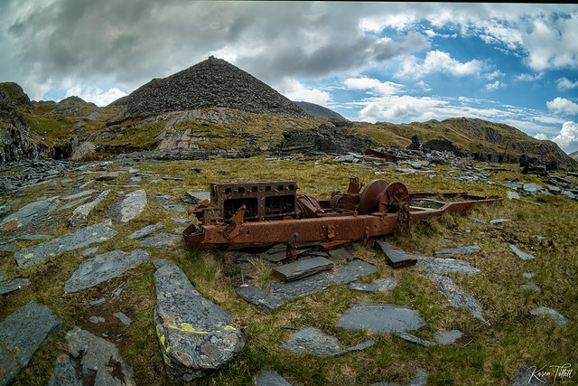 Rhosydd Quarry-machinery