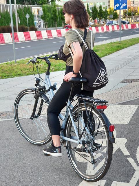 Techno biker