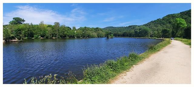 Pathway round the lake
