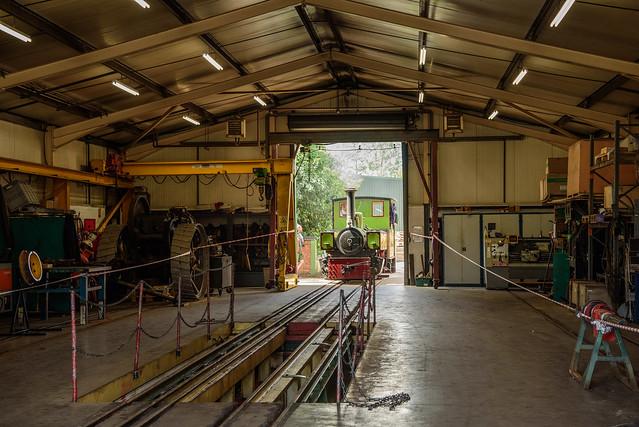 'Alpha', Statfold Barn Railway