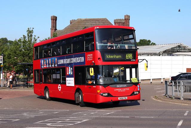 Route 698, London United, SP40008, YN56FBA