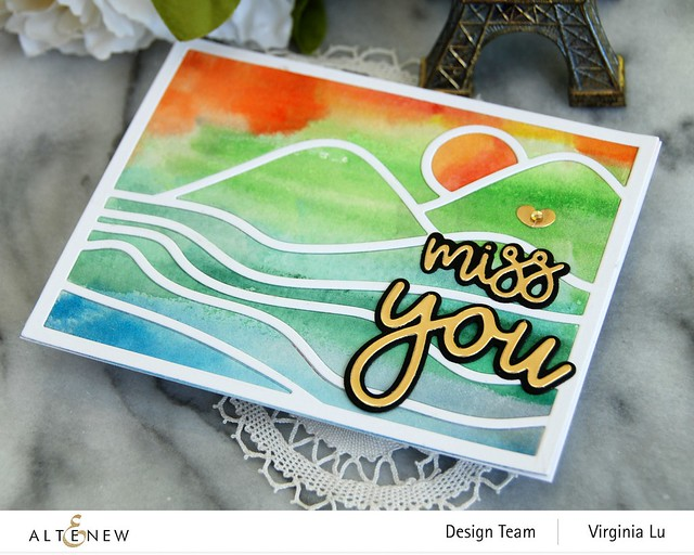 Altenew-Abstract Landscape Cover Die-All About You Die Set-002