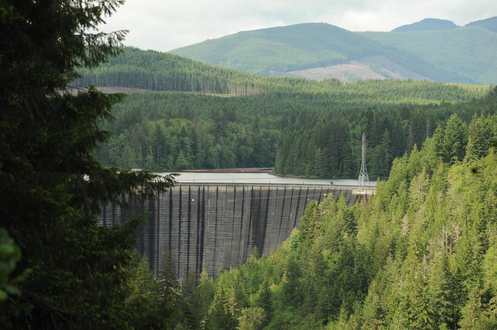Alder Dam, Nisqually River