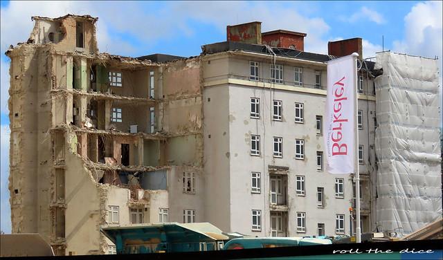 Ashdale House`Woodberry Down Estate Demolished