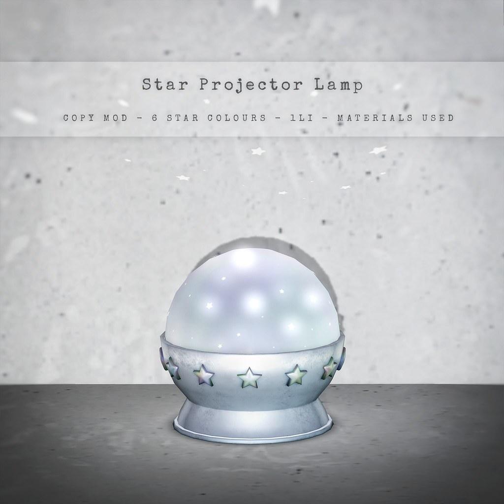 CELESTE – Star Projector Lamp