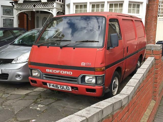 1988 Bedford Midi Van