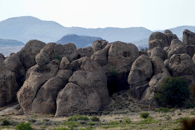A playground of boulders