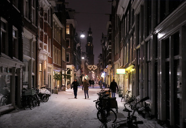 In love ♡♡ with Amsterdam in winter