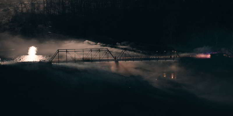 The Wilderness bridge