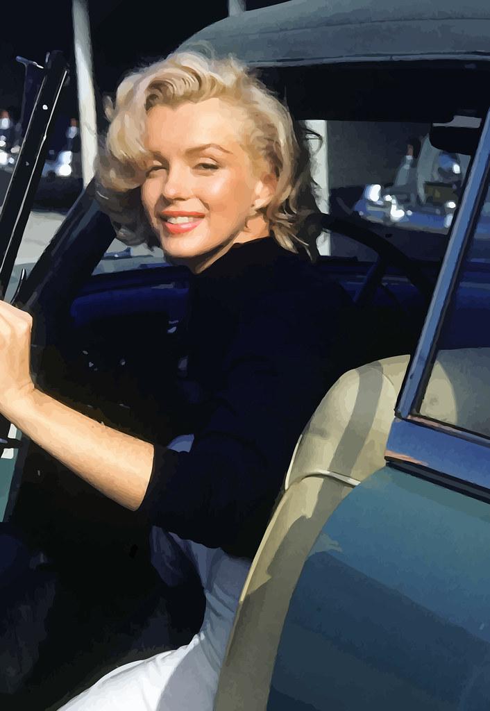 Marilyn fotografiada por Alfred Eisenstaedt para la revista LIFE, mayo de 1953