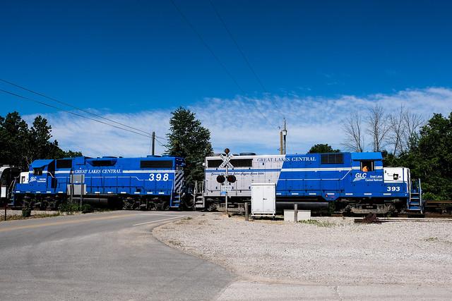 FRA Inspection Train on the GLC