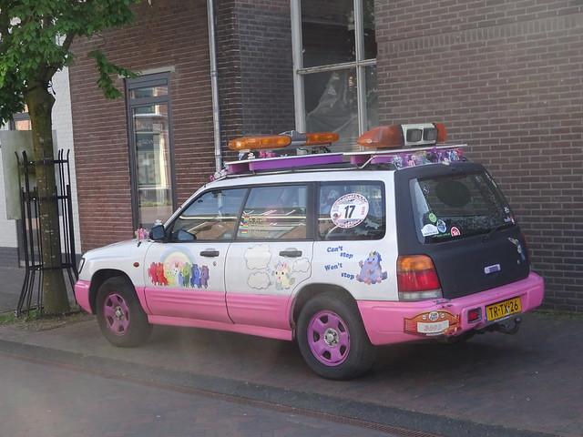 een nederlandse artcar! TR-TX-26 SUBARU FORESTER  1998 Olst