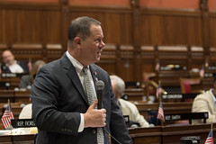 State Rep. Craig Fishbein during debate on legalizing recreational marijuana during the special legislative session on Wednesday, June 16, 2021.
