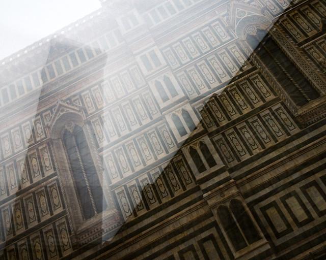 beneath the facade