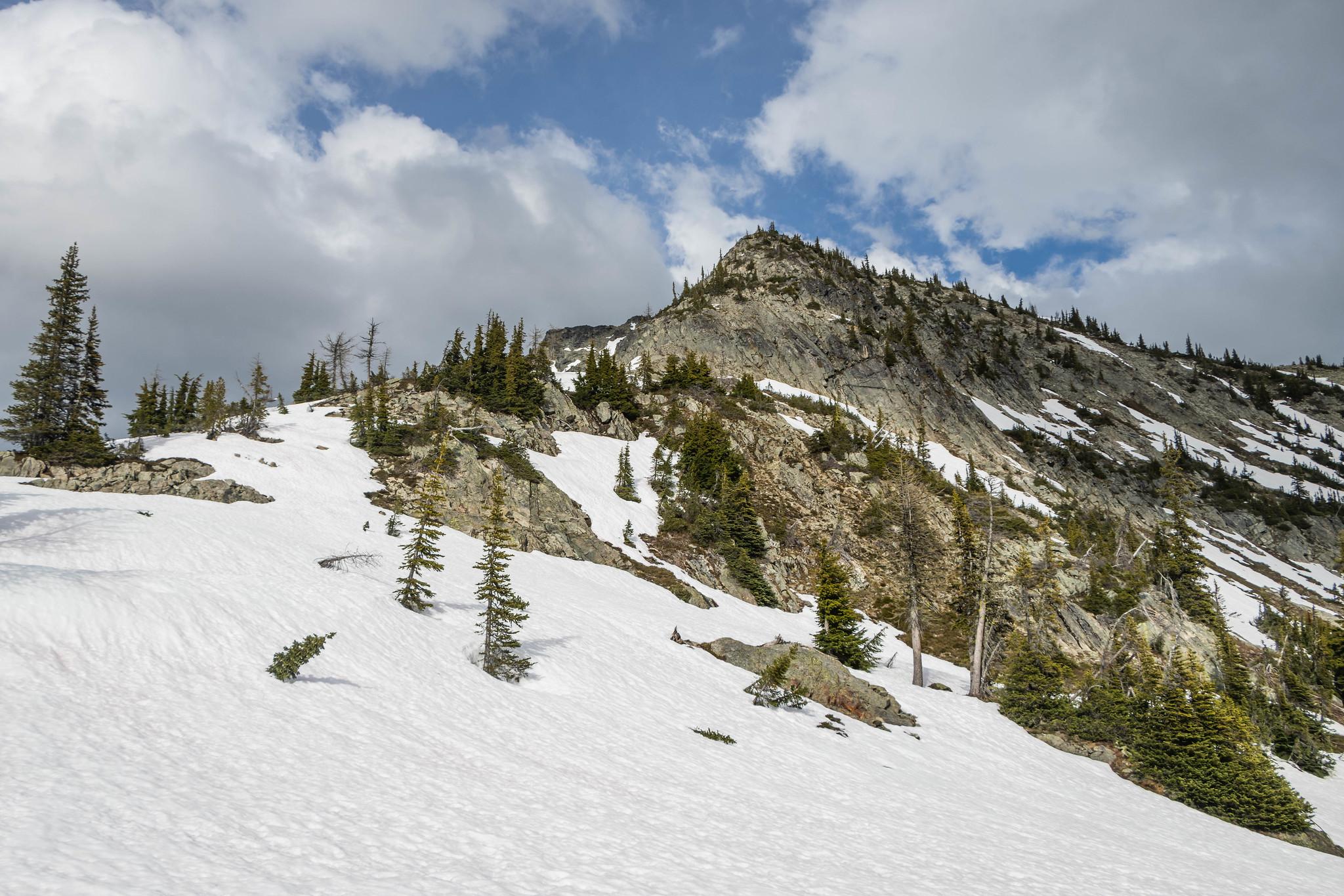 Copper Benchmark west ridge