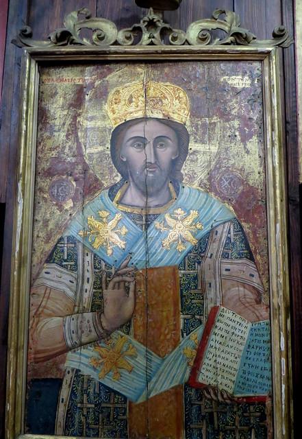 Eglise serbe orthodoxe de St Luc, 1195, Kotor, Monténégro.
