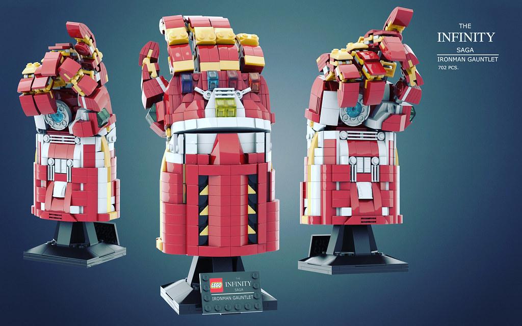 LEGO Iron Man Gauntlet