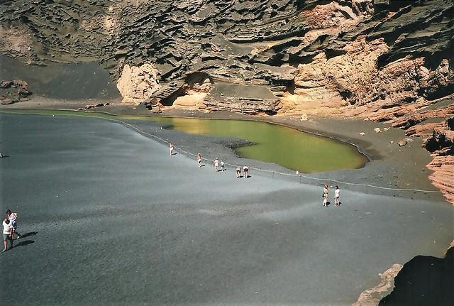 Lanzarote - Charco de los Clicos - El Golfo