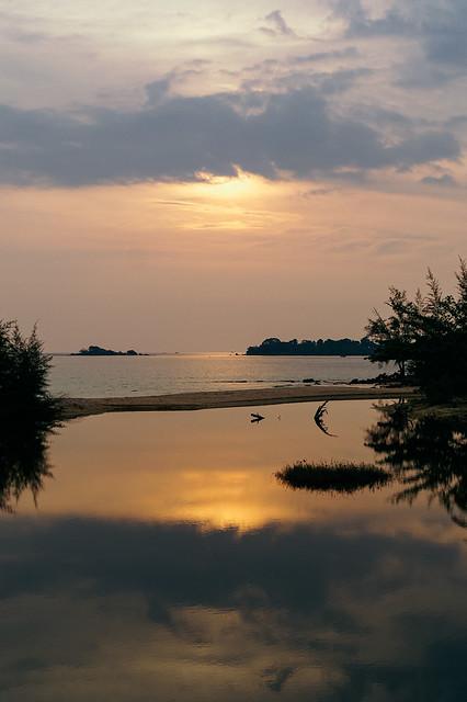 Golden sunset, Phu Quoc (Vietnam)