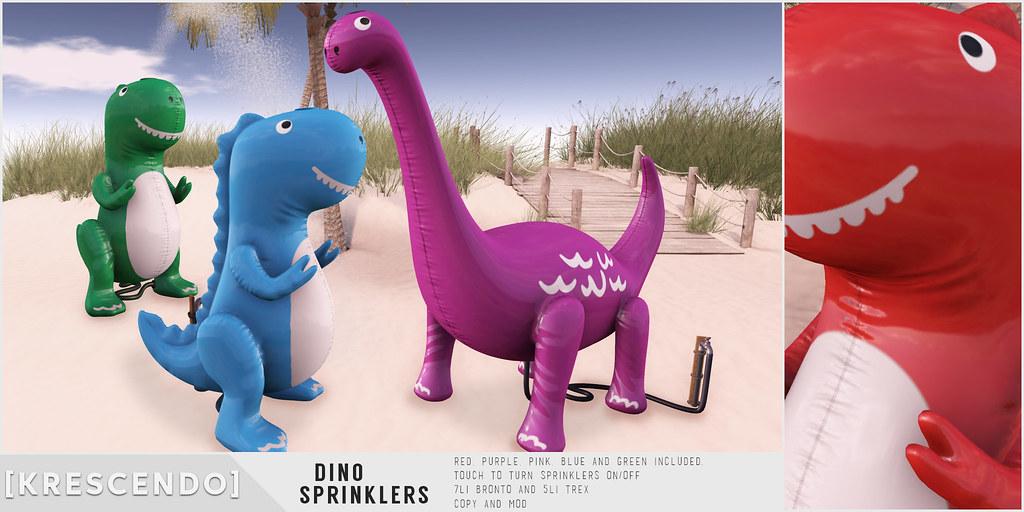 [Kres] Dino Sprinklers