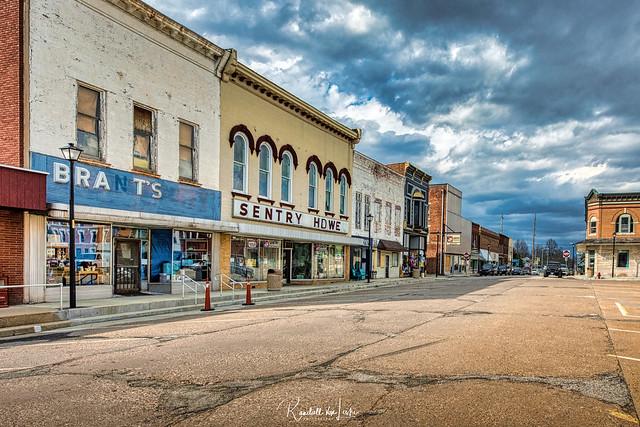 Looking North On S. Main St., Winchester, Illinois