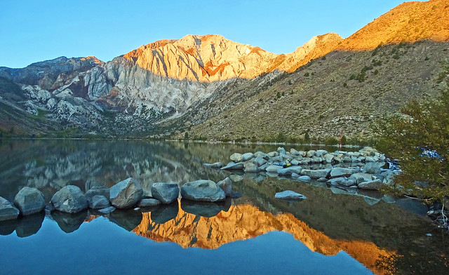First Light at Convict Lake, Sierra Nevada 2019