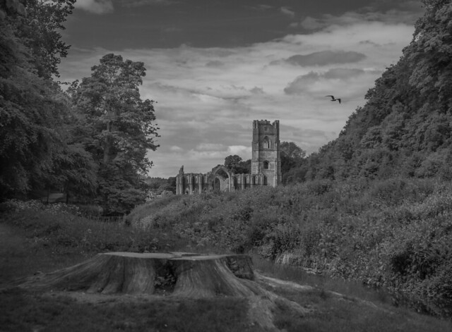 Fountains Abbey, UK.