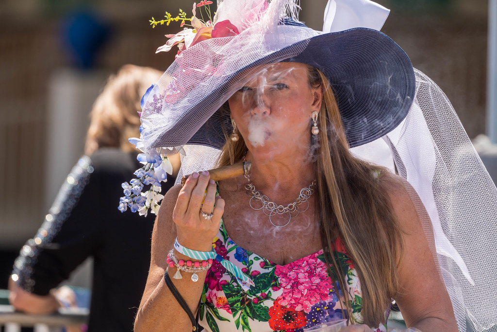 Cigar at the Derby